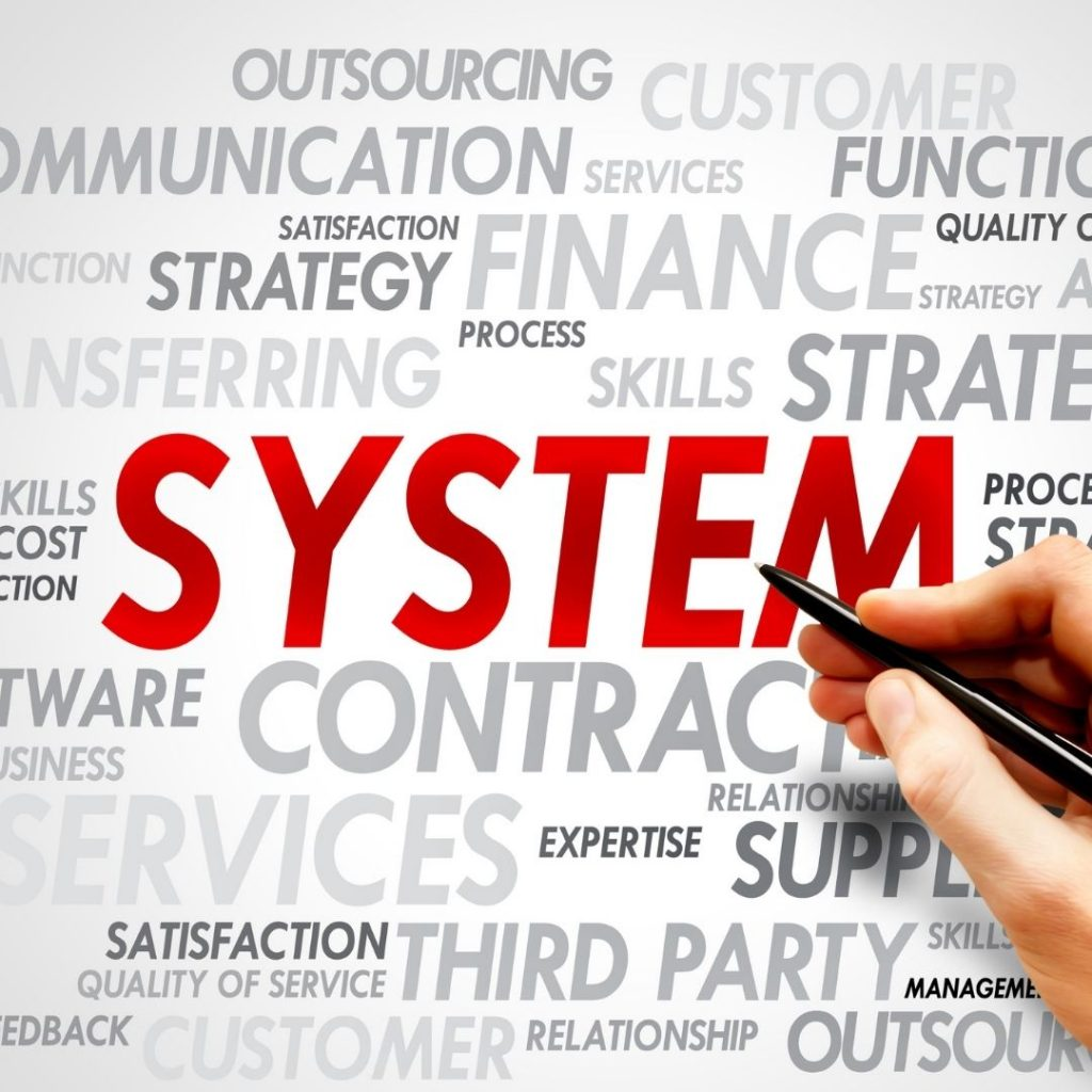 outsourcing systems graphic